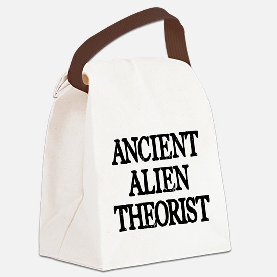 Ancient Alien Theorist Canvas Lunch Bag