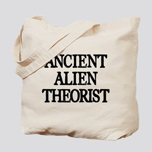 Ancient Alien Theorist Tote Bag
