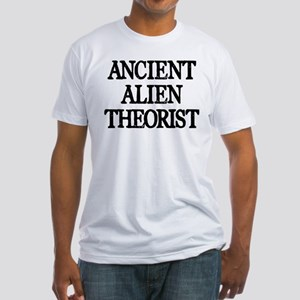 Ancient Alien Theorist Fitted T-Shirt