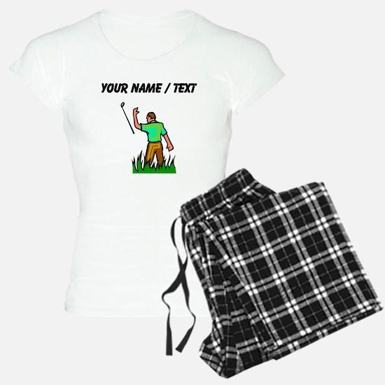 Custom Angry Golfer Pajamas