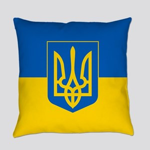 Ukrainian Flag Everyday Pillow