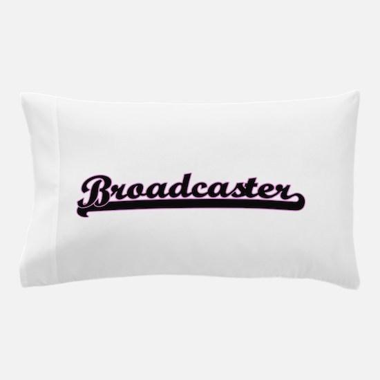 Broadcaster Classic Job Design Pillow Case