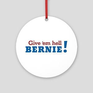 Bernie Sanders President 2016 Ornament (Round)