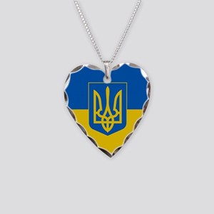 Ukrainian Flag Necklace