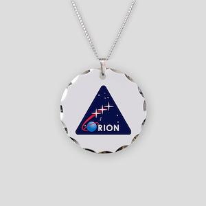 NASA Orion Program Icon Necklace Circle Charm