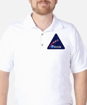NASA Orion Program Icon Golf Shirt