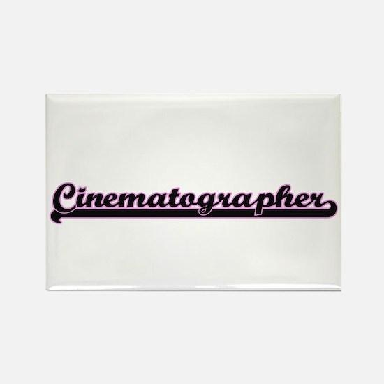 Cinematographer Classic Job Design Magnets