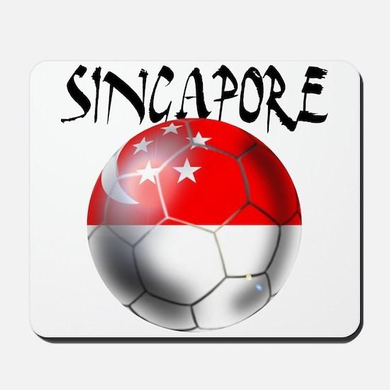 Singapore Football Mousepad