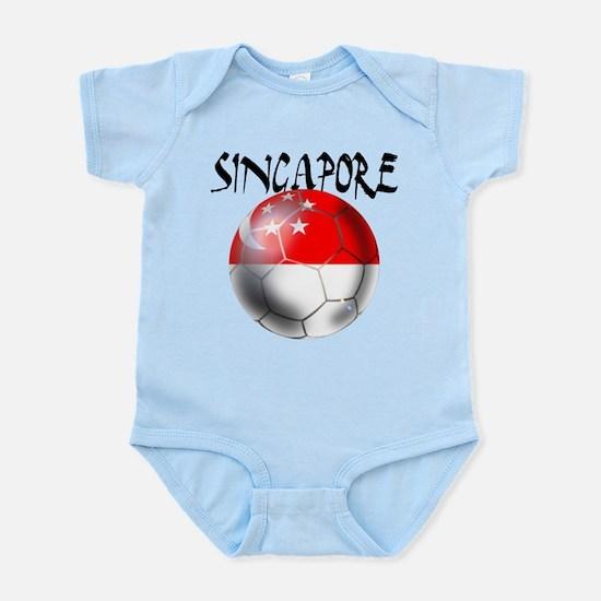 Singapore Football Infant Bodysuit