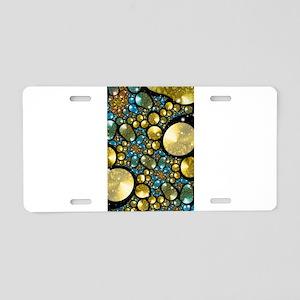 Pebbles Aluminum License Plate