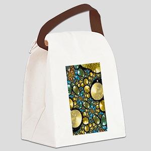 Pebbles Canvas Lunch Bag