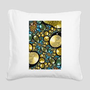 Pebbles Square Canvas Pillow
