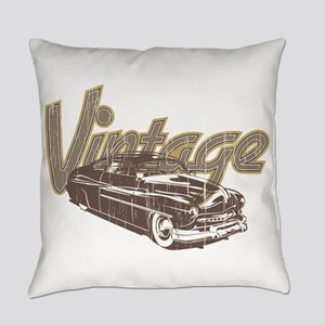 Vintage Car Everyday Pillow