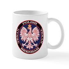 Brenham Round Polish Texan Mug
