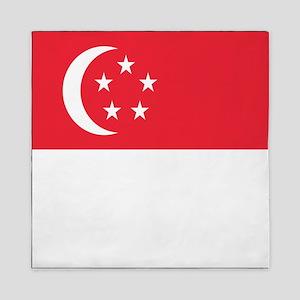 Flag of Singapore Queen Duvet