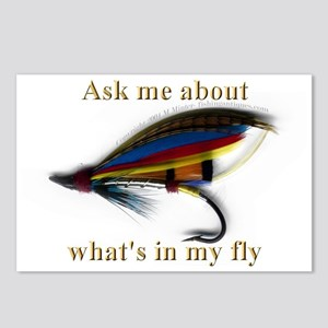 What's in my Fly  Postcards (Package of 8)