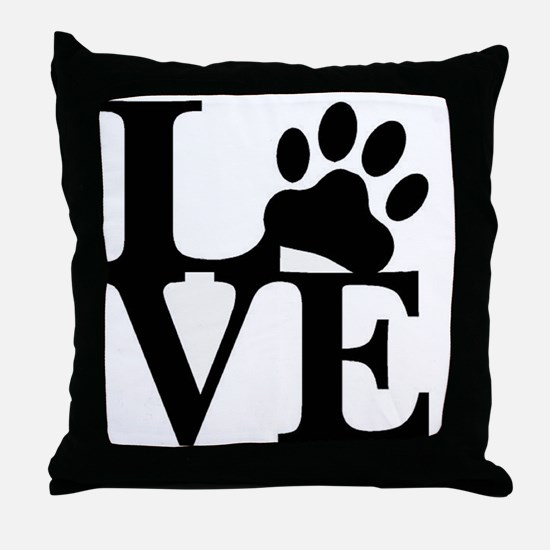 Funny For the yard Throw Pillow