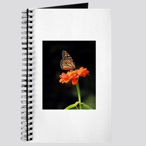 Simple Butterfly on a Flower Journal