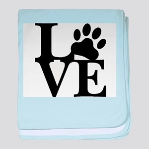 Pet Love and Pride (basic) baby blanket