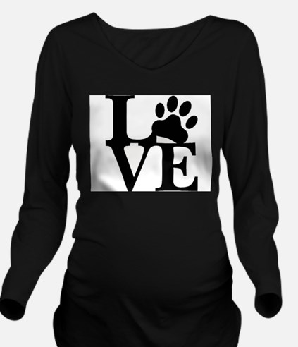 Pet Love and Pride ( Long Sleeve Maternity T-Shirt