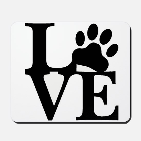 Pet Love and Pride (basic) Mousepad