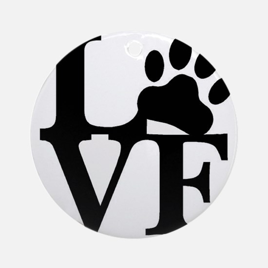 Pet Love and Pride (basic) Ornament (Round)
