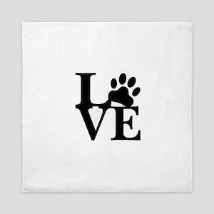 Pet Love and Pride (basic) Queen Duvet