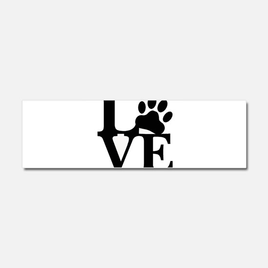 Pet Love and Pride (basic) Car Magnet 10 x 3