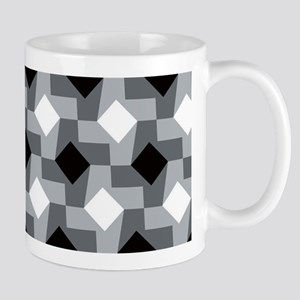 Blurry Houndstooth Mugs
