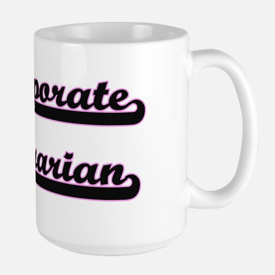 Corporate Librarian Classic Job Design Mugs