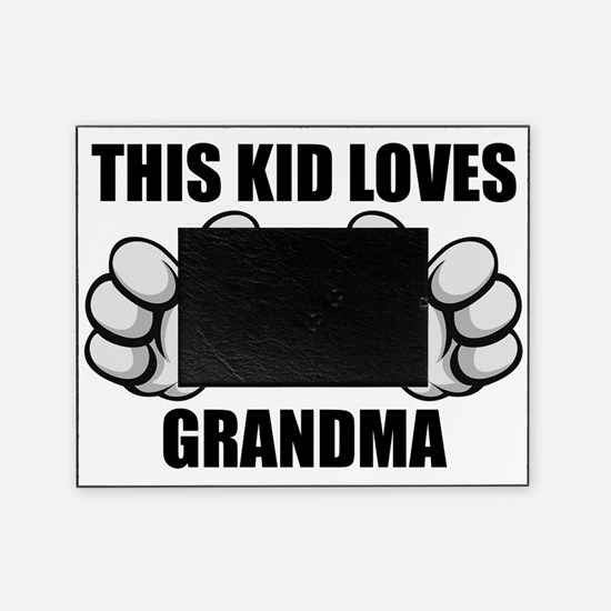 This Kid Loves Grandma Picture Frame