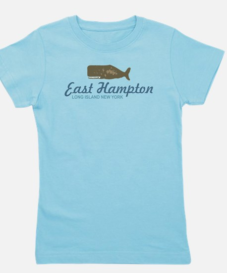 East Hampton - New York. Girl's Tee