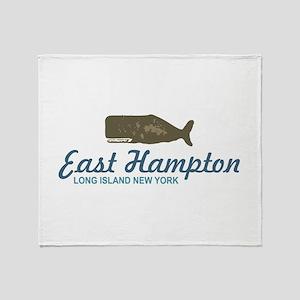 East Hampton - New York. Throw Blanket