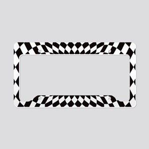 Optical Check Perspective License Plate Holder