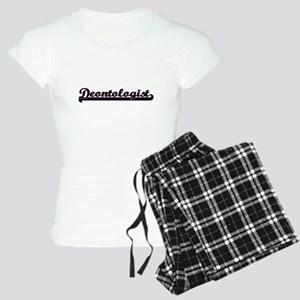 Deontologist Classic Job De Women's Light Pajamas