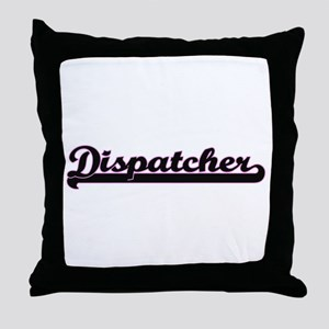 Dispatcher Classic Job Design Throw Pillow