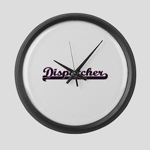 Dispatcher Classic Job Design Large Wall Clock