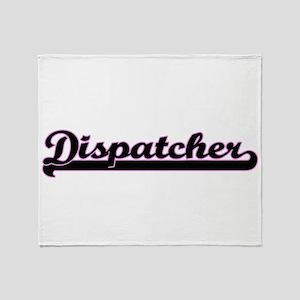 Dispatcher Classic Job Design Throw Blanket