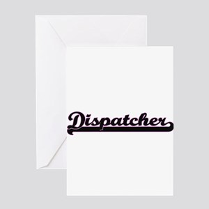Public safety jobs greeting cards cafepress dispatcher classic job design greeting cards m4hsunfo