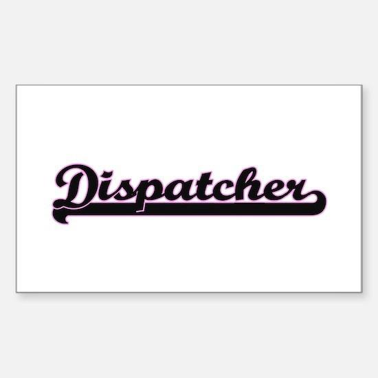 Dispatcher Classic Job Design Decal