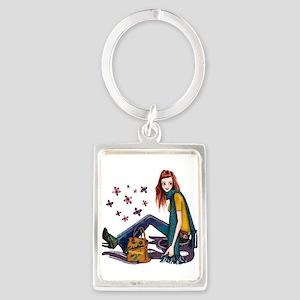 Fashion Girl Keychains