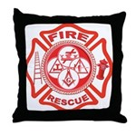 Masons - York Rite F&R Throw Pillow