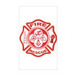 Masons - York Rite F&R Rectangle Sticker