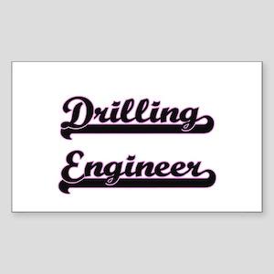 Drilling Engineer Classic Job Design Sticker