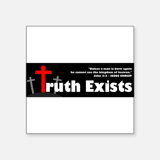 """Unique Holy father Square Sticker 3"""" x 3"""""""