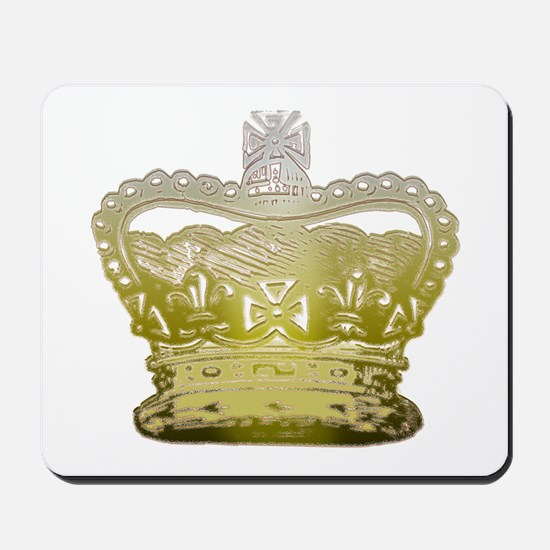 Golden Crown Mousepad