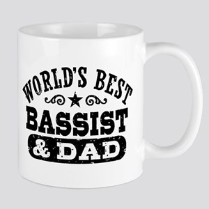 World's Best Bassist and Dad Mug