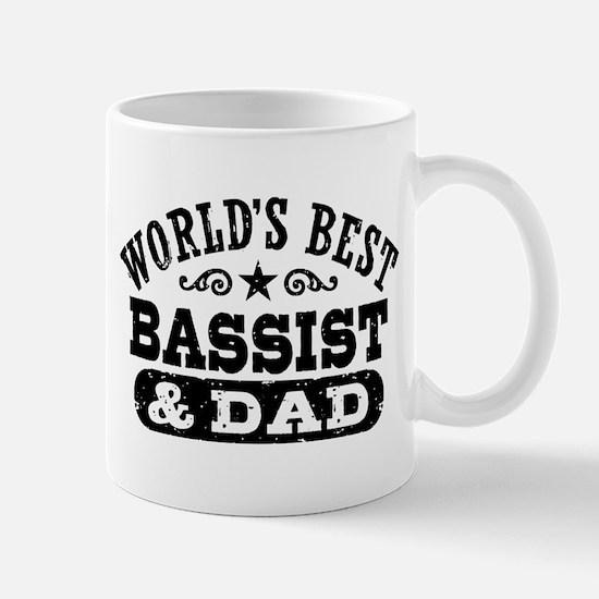 World's Best Bassist and Dad Mug