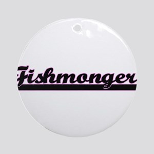 Fishmonger Classic Job Design Ornament (Round)