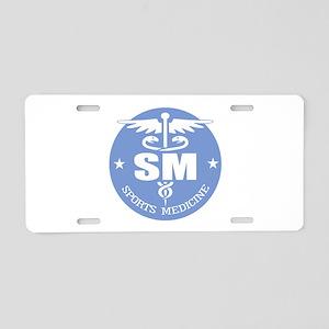 Cad -Sports Medicine Aluminum License Plate